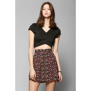 UO Pins and Needles Floral Mini Skirt - Small
